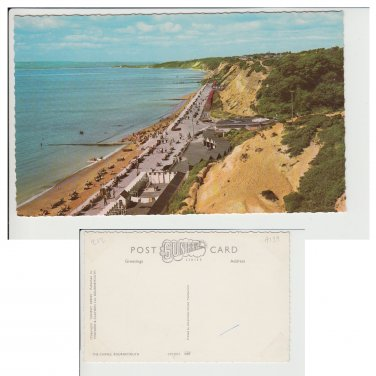 Dorset Postcard The Chines, Bournemouth Mauritron Item No. 44