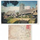 Isle of Wight Postcard Thatched Cottages Mauritron Item No. 46