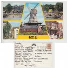 Kent Postcard Rye Multiview Mauritron Item No. 63