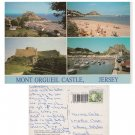 Jersey Postcard Mont Orgueil Castle Multiview Mauritron Item No. 66