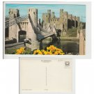 Conwy Postcard The Castle Conway PT24203 Mauritron Item No. 75