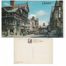 Cheshire Postcard Eastgate Street, Chester. Mauritron # 101
