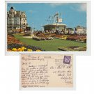 Sussex Postcard The Carpet Gardens, Eastbourne. Mauritron # 102