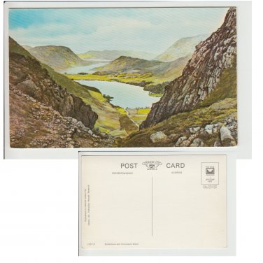Cumbria Postcard Buttermere and Crummock Water. Mauritron #114