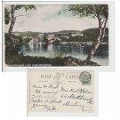 Cumbria Postcard Bassenthwaite Lake from Whinlatter. Mauritron #119