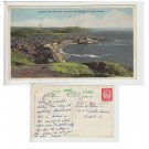 Ceredigion Postcard Aberystwyth from Constitution Hill. Mauritron #125