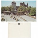 Cheshire Postcard Chester Cathedral and Bell Tower. Mauritron #126