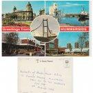Humberside Postcard Humberside Multiview. Mauritron #135