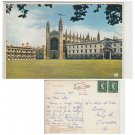 Cambridgeshire Postcard Kings College and Chapel Cambridge. Mauritron #147
