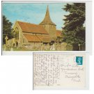 Hampshire   Postcard St Mary's Church Hayling Island. Mauritron #158