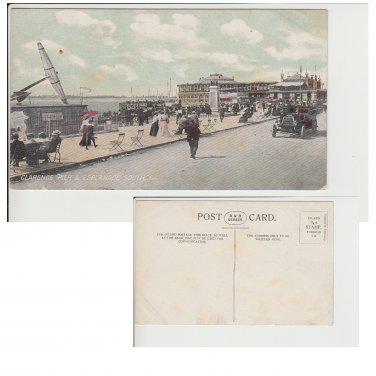 Hampshire   Postcard Clarence Pier & Esplanade Southsea. Mauritron #167