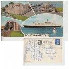 Hampshire   Postcard Southampton Multiview. Mauritron #173