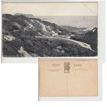 Yorkshire Postcard Scarborough Holbeck Gardens. Mauritron #177