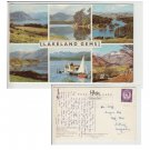 Cumbria Postcard Lakeland Gems Multiview. Mauritron #198