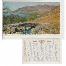 Cumbria Postcard Ashness Bridge & Skiddaw Keswick. Mauritron #200