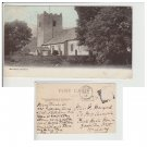 Cumbria Postcard Grasmere Church. Mauritron #211