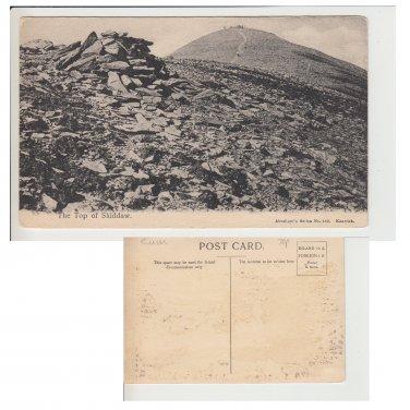 Cumbria Postcard The Top of Skiddaw. Mauritron #246