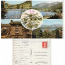 Cumbria Postcard The Lake District Multiview. Mauritron #257