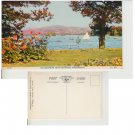 Cumbria Postcard Windermere from Bowness Promenade. Mauritron #268