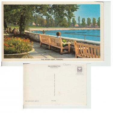 Cumbria Postcard The River Kent Kendal. Mauritron #273