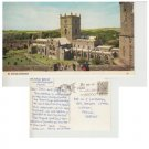 Pembrokeshire Postcard St. David's Cathedral. Mauritron #304