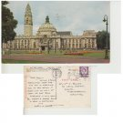 Glamorgan Postcard City Hall Cardiff. Mauritron #318
