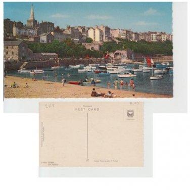 Pembrokeshire Postcard Tenby Harbour Mauritron 339