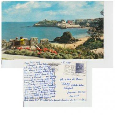 Pembrokeshire Postcard North Bay Tenby Mauritron 344
