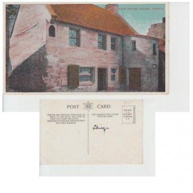 Perthshire Postcard Fair Maids House Perth Mauritron 349