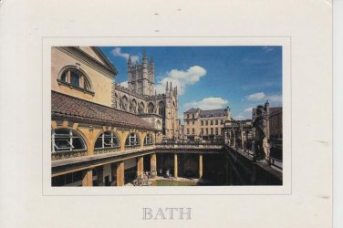 Bath Roman Baths and Abbey  Postcard. Mauritron PC375-213567