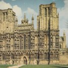 Wells Cathedral Somerset  Postcard. Mauritron PC376-213568