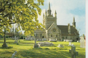 Whippingham Church  Postcard. Mauritron PC386-213578