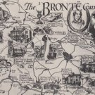 The Bronte Country Map  Postcard. Mauritron PC393-213585