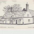Three Horseshoes Houghton Cumbria Postcard. Mauritron PC414-213809