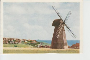 The Windmill Rottingdean Sussex Rear Blank Postcard. Mauritron PC421-213816