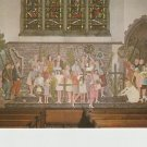 Rushbearing Mural Ambleside Postcard. Mauritron PC429-213824