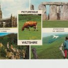 Picturesque Wiltshire Multiview Postcard. Mauritron PC438-213833