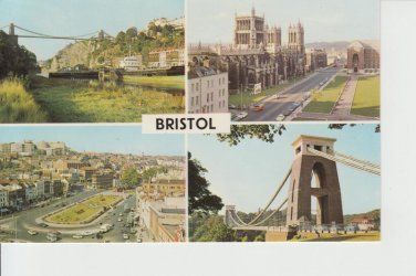Bristol Multiview Postcard. Mauritron PC457-213852