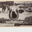 Good Luck Portsmouth Southsea Postcard. Mauritron PC486-213881