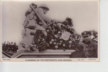 Guardian Portsmouth War Memorial Postcard. Mauritron PC491-213886