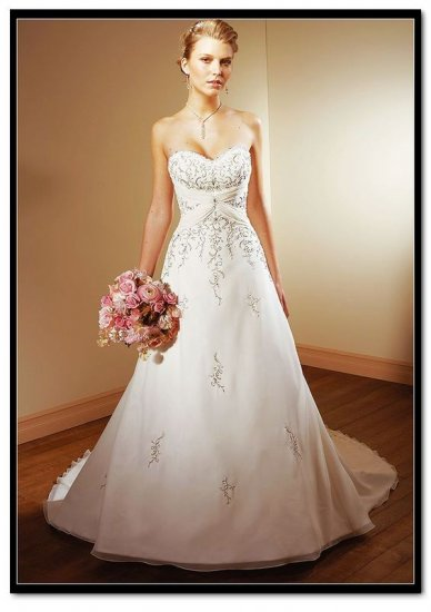 Beautiful Wedding dress/gown & bridesmaid Size 2--48
