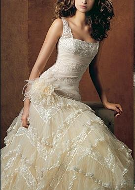 2007 Sexy Wedding Dresses/prom gown/bridesmaid all size