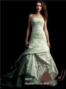 Wedding Dress Bridal Bridesmaid Gown/Prom Ball Evening
