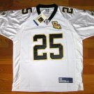 NEW NFL JERSEY New Orleans Saints BUSH#25 White size 50