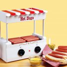 Nostalgia Electrics Retro Series Hot Dog Roller Grill Perfect for Man Cave Christmas Gift