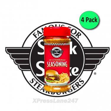 Steak N Shake Fry N Steak Burger Seasoning 8 oz Bottle (4-Pack)