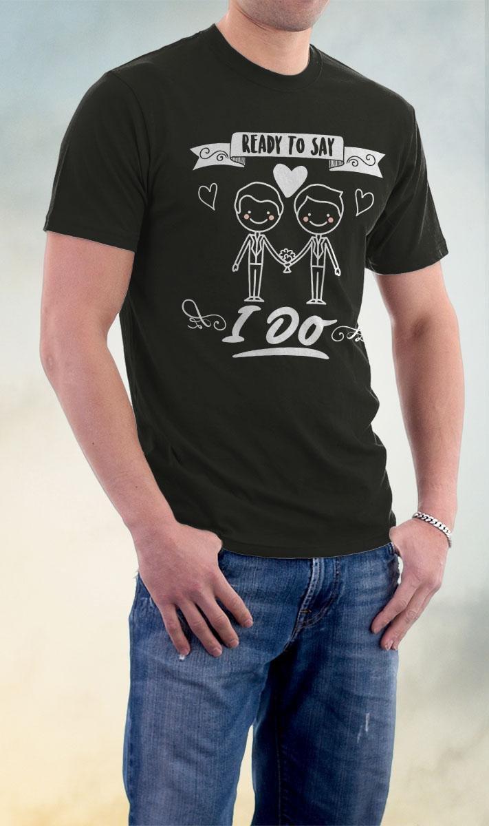 Gay Pride, Ready To Say I Do Shirt