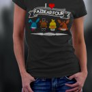 Friday Night At Freddy's, Faz Four, FNAF, I Heart FazBear Four Shirt