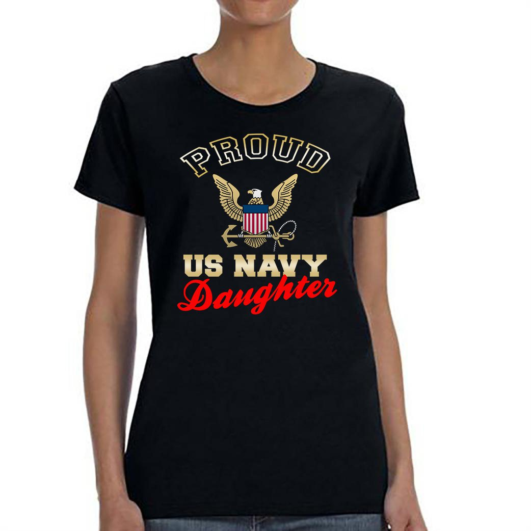 US Navy Daughter, Proud Us Navy Daughter Shirt