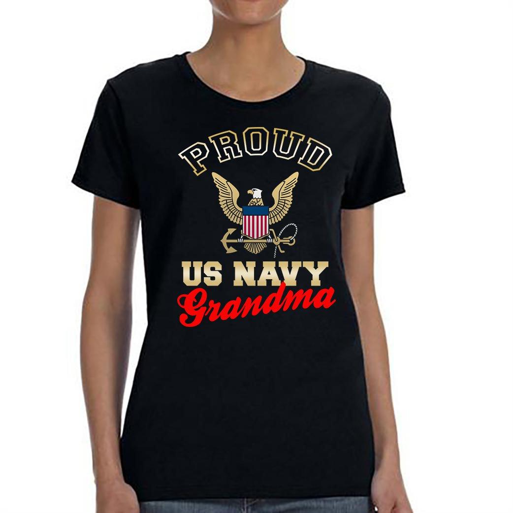 US Navy Grandma, Proud Us Navy Grandma Shirt